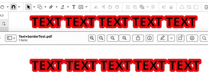 TextBorder2PDF