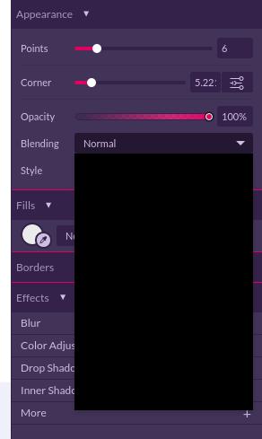 Drop down menus are all black - Bugs - Gravit Designer