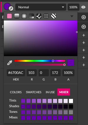 Don't close the color panel when I undo a color change