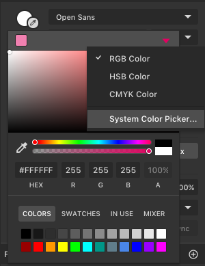 Colour picker to also act outside the canvas - Questions