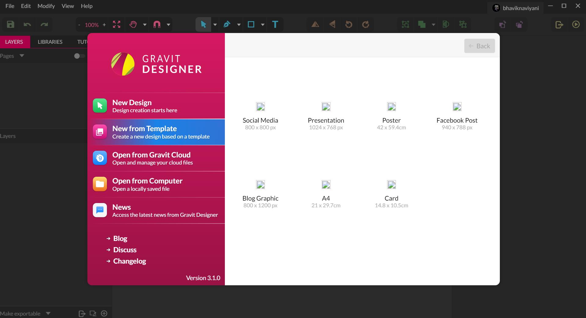 Gravit Designer v. 3.3.1 / Gravit online - umfangreiches Vektor ...